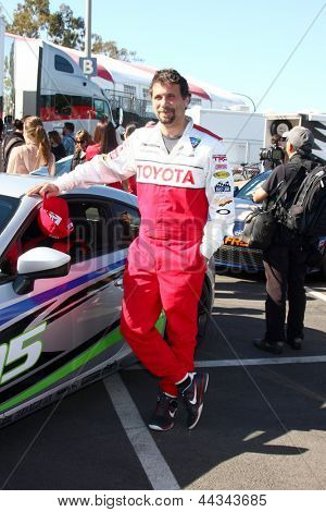 LOS ANGELES - APR 9:  Jeremy Sisto at the Toyota ProCeleb Race Press Day 2013 at the Toyoto Grand Prix Circuit on April 9, 2013 in Long Beach, CA