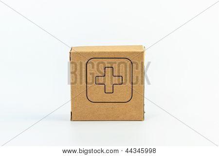 Pillbox Isolated On Whitebackground