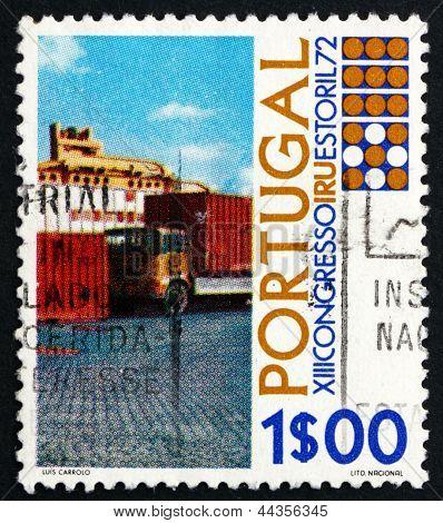 Postage Stamp Portugal 1972 Trucks