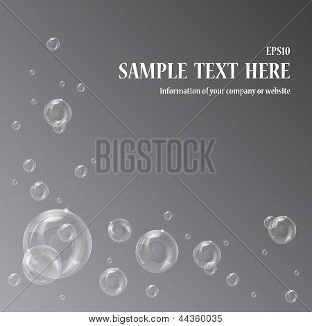 Bubbles white