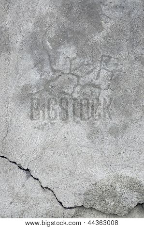Grunge Gray Wall Stucco Texture Natural Grey Rustic Concrete Plaster Macro Closeup Old Aged Detailed