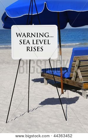 Sea Level Rises Warning