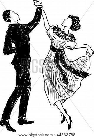 Vintage Dancing Couple.eps