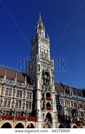 New Town Hall (neues Rathaus) In Munich