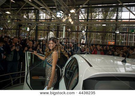 Belen Rodriguez, Bologna Motorshow 2008