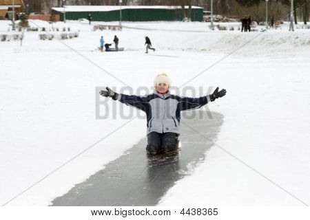 Girl On Ice