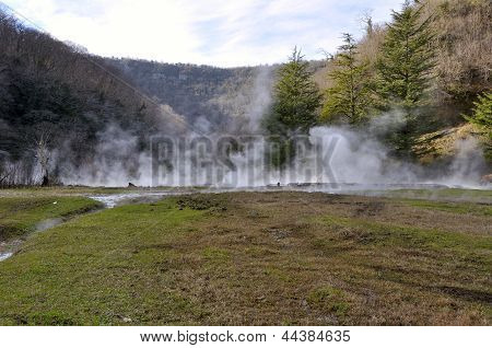 Hot Sulfur Springs