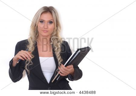 Beautiful Young Fashion / Businesswoman