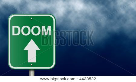 Road Sign To Doom
