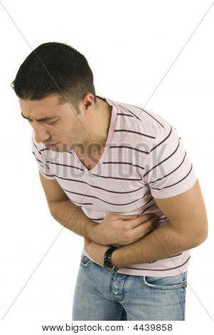 Stomach Ache Man