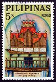 Postage Stamp Philippines 1964 Bamboo Organ In The Church Of Las