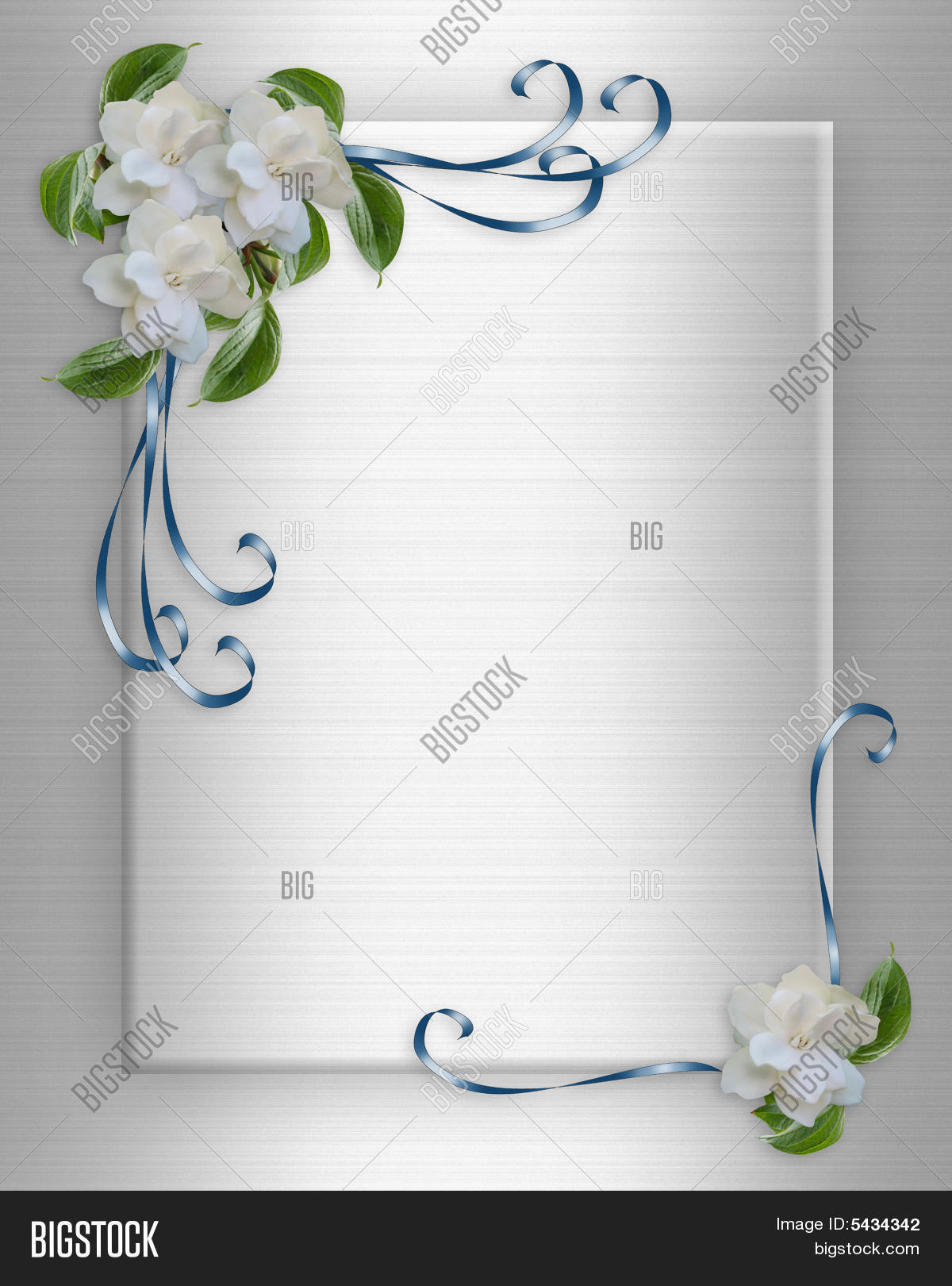 Wedding Invitation Background Image Photo Bigstock