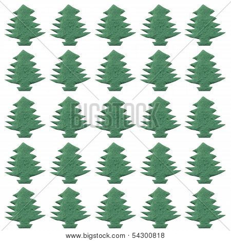 Cristmas Tree Paper Cutting Patterns