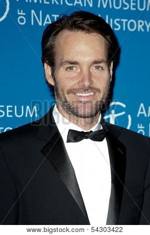 NEW YORK-NOV 21; Actor Will Forte attends the American Museum of Natural History's 2013 Museum Gala at American Museum of Natural History on November 21, 2013 in New York City.