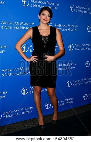NEW YORK-NOV 21; Comedienne Cecily Strong attends the American Museum of Natural History's 2013 Museum Gala at American Museum of Natural History on November 21, 2013 in New York City.
