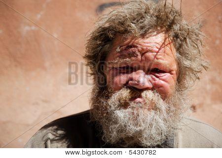 Obdachlose Leben