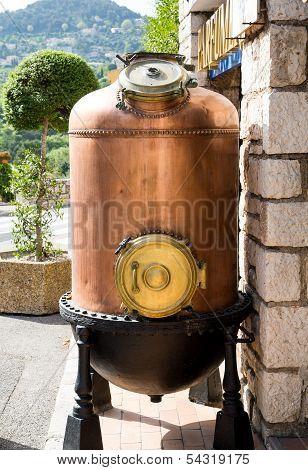 Copper Perfume Tank