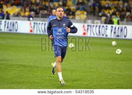 Franck Ribery Of France