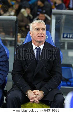 Head Coach Of  France National Football Team Didier Deschamps