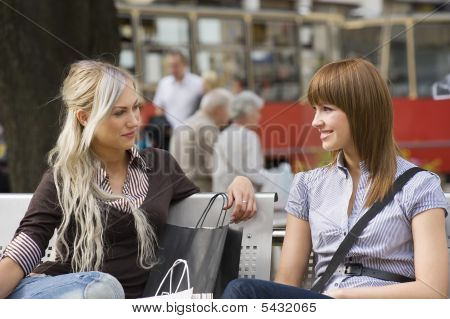 Girls On The Bench