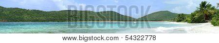 Flamenco Beach Culebra Panoramic View