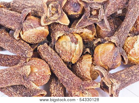 Macro Spice Cloves Buds