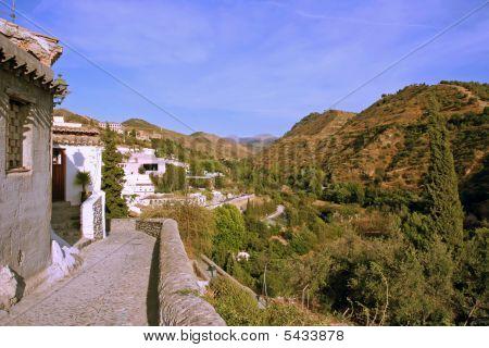 View from Albayzín Granda Spain