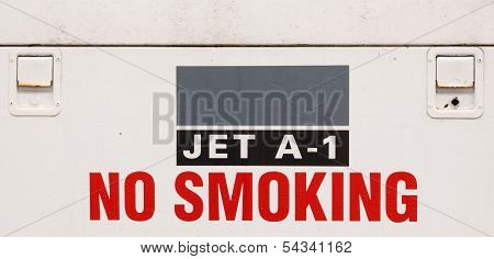 Jet Fuel Sign