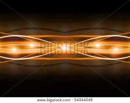 abstract golden line