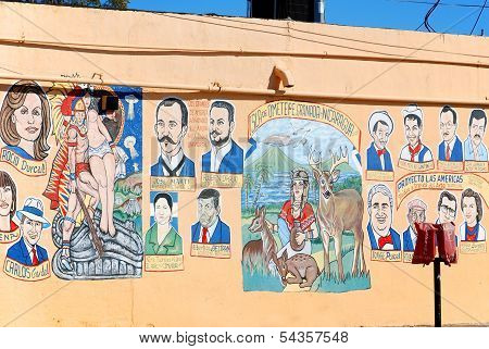 raffiti on wall of little Havana