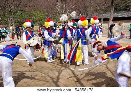 Sangmo dancer