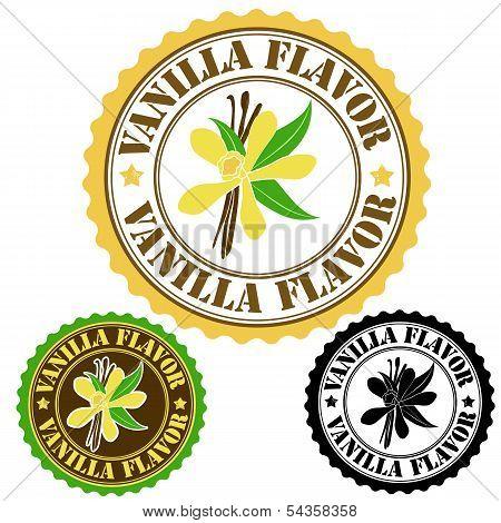 Vanilla Flavor Stamp