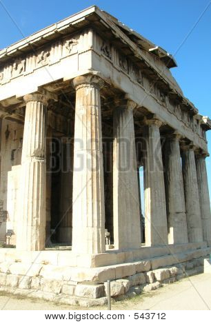 Greek Temple - Athens