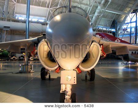 Closeup Of Jet Plane