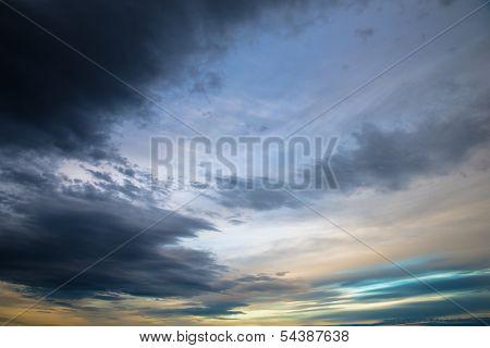 Sumptuous Evening Sky