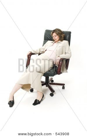 Woman Bad Posture