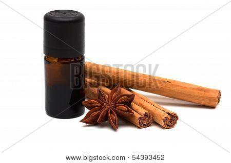Essence With Cinnamon Sticks And Anice