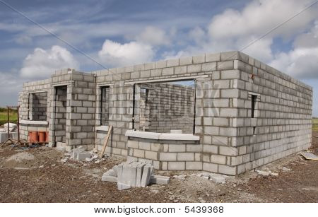 New Build House Construction