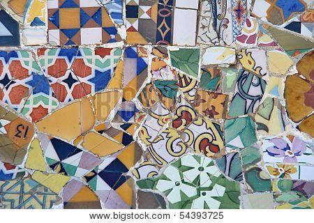 Ceramic Mosaic Pattern