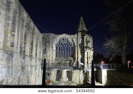 Dunfermline Abbey Ruins
