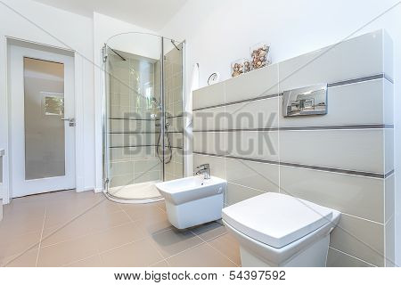 Bright Space - Modern Toilet