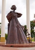 Monument To The Wives Of The Decembrists. Tobolsk. Russia