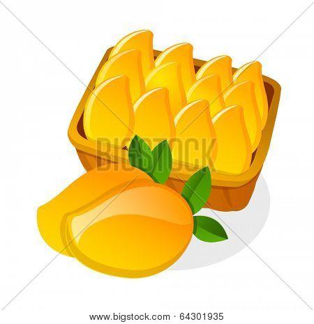 vector icon mango