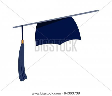 vector icon graduation cap
