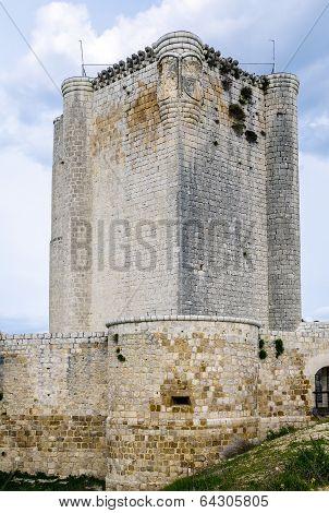 Castillo De Iscar In Valladolid Province