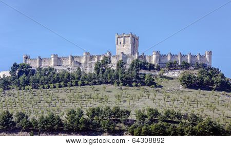Castle Of Penafiel, Valladolid, Spain