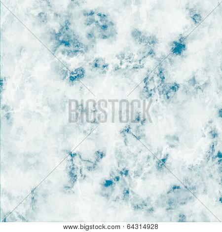 Marble Blue, Vector Texture Background
