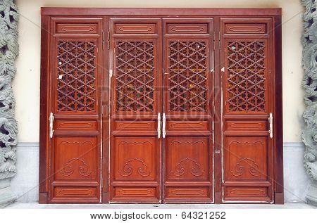 Po Lin Monastery Door