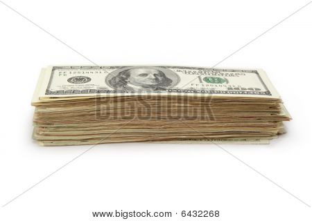 Pile of Dollars Bills