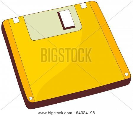 A vector illustration of a bathroom scale